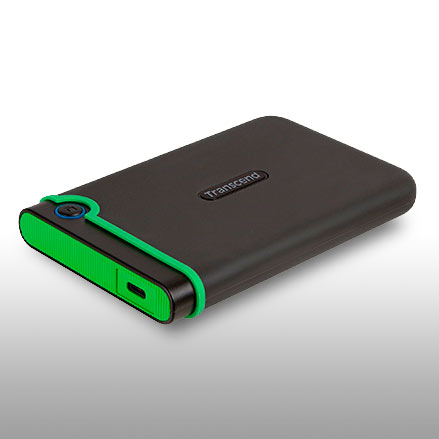 Проверено в US Army: Transcend StoreJet 25M3 USB HDD соответствуют стандарту US MIL-STD-810G 516.6 (Transit Drop)!