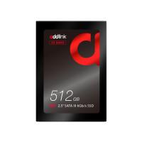 "AddLink S20 512GB 2.5"" SATA III 6Gb/s 3D TLC SSD (ad512GBS20S3S)"