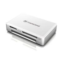 Универсальный картридер USB 3.2 Gen 1 / 3.1 Gen 1 Transcend TS-RDF8W2 белый