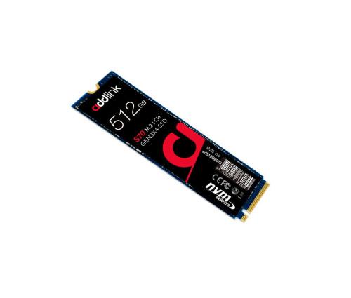 AddLink S70 512GB M.2 2280 NVMe PCIe GEN3x4 3D TLC SSD (ad512GBS70M2P)