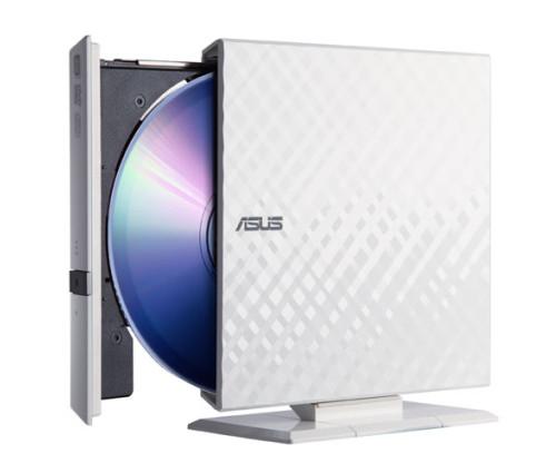 Внешний пишущий DVD-привод ASUS SDRW-08D2S-U Белый (odd)