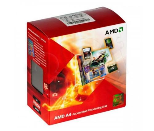 Процессор AMD A4-3400 2.7GHz/1MB (AD3400OJHXBOX) sFM1 BOX