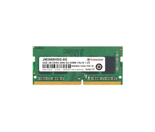 Модуль памяти Transcend JetRam SO-DIMM DDR4-2666 8GB (JM2666HSB-8G)
