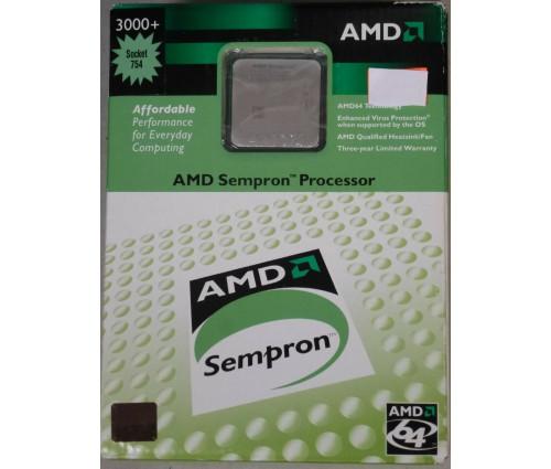 Процессор AMD Sempron 3000+ 1.8GHz (SDA3000BXBOX) BOX