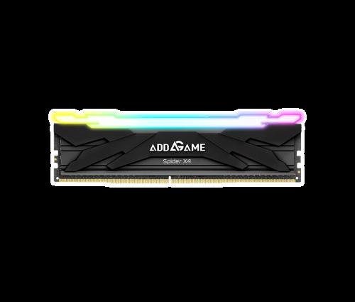 AG8GB32C16X4UB 8GB DDR4 3200MT/s CL16  Unbuffered DIMM 288Pin  Black RGB