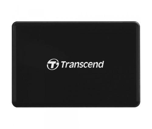 Универсальный картридер Transcend USB 3.2 Gen 1 / 3.1 Gen 1, Black (TS-RDF9K2)