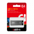 AddLink U65 64GB USB Flash Drive (USB3.1 Gray) ad64GBU65G3